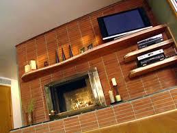 how to build a mantel shelf on a brick fireplace how to install a floating mantel how to build a mantel shelf on a brick fireplace
