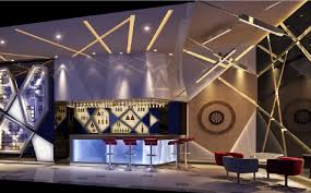 postmodern interior architecture. Bar Interior Design Postmodern Style Architecture E