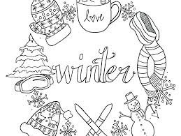Printable Christmas Coloring Pages Free Pdf For Preschool