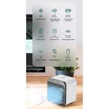 Quạt làm mát hơi nước mini để bàn kết nối USB, nhỏ gọn dễ dàng và tiện lợi  - Home and Garden - Quạt hơi nước, phun sương Nhãn hàng OEM