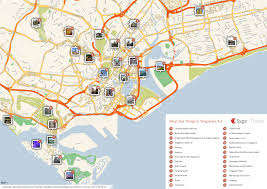 about singapore city mrt tourism map and holidays detail
