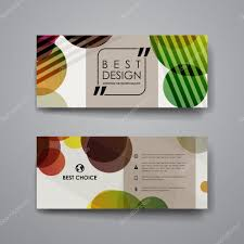 Desain Banner Contoh Desain Banner Set Of Modern Design Banner Template