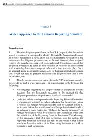 wider approach to the common reporting standard oecd edition