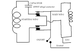 single phase motor wiring diagram reversing wiring diagram single pha reversible motor wiring diagram danby