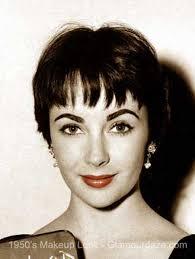 liz taylor 1950s makeup test lips glamourdaze