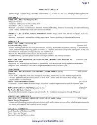 Resume Template Format Of Download U0026amp Write The Best With