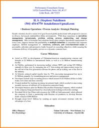 Management Consulting Resume Sample Consultant Cv Cover Letter