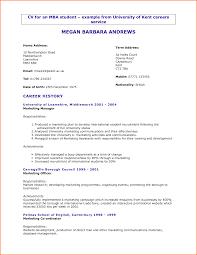 Sample Letter. Splendid CV For University Application Examples. Best CV For University  Application With