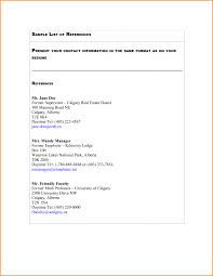 Reference List For Resume Getessay Biz Free Page Template 5 Of