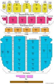 shea s performing arts seating chart with seat numbers