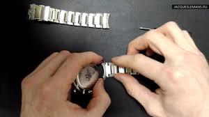 <b>Jacques Lemans 1</b>-1844H, замена браслета на кожаный ремень ...