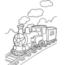Glue the trains to opposite sides of a recycled cereal box or milk carton. Top 26 Free Printable Train Coloring Pages Online