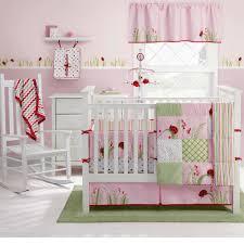 King And Queen Decor Cherry Blossom Nursery Bedding Ladybug Crib Bedding King