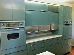 restoring old metal kitchen cabinets vintage retro metal kitchen