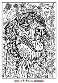 Small Picture Animal coloring pages pdf Adult coloring Coloring books and Dog cat