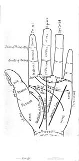 A Palm Reading Diagram In A Guide To Palmistry By Eliza