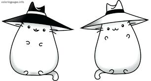 Fat Cat Coloring Pages Printable Bltidm