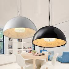 dome lighting fixtures. Modern Dome Black White Dinning Room Semicircle Chandelier Art Hanging Gardens Lamp Fixtures With110v 220v For Lighting