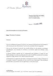 Rene Paul Victoria Exclu Des Republicains Pour Faute Grave