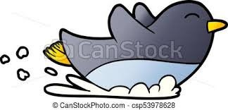 penguin sliding clip art. Delighful Art Cartoon Penguin Sliding  Csp53978628 And Penguin Sliding Clip Art N