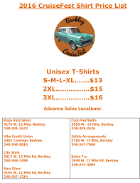 Microsoft Word Price List Microsoft Word 2016cruisefest Shirt 2016 Price List With Advan
