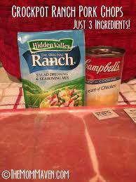 crockpot ranch pork chops recipe the