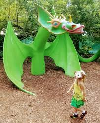 welcome to the children s garden art center enter a world of make believe where fairies hobbits work pirates sail the high seas and snuffy