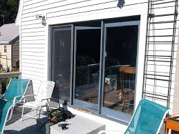 sliding glass door installation sliding glass patio door installation east ma sliding glass door tint home depot
