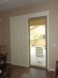 plantation shutters on a sliding glass door from traditional glass door source