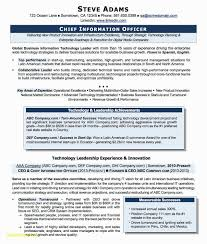 Resume For Information Technology Manager New Marine Chief Engineer