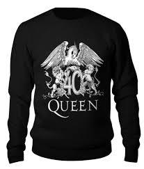 """Свитшот унисекс хлопковый """"queen"""" #2489338 от robus - <b>Printio</b>"""