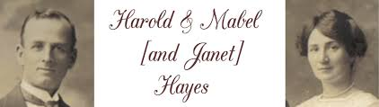 Harold and Mabel Hayes - Hayes Family in Australia