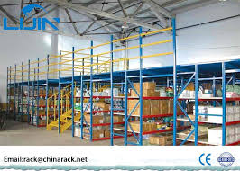 Powder Coating Racks Suppliers Durable Mezzanine Warehouse System Powder Coated Metal Mezzanine 83
