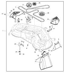 john deere x140 garden tractor spare parts john deere x140 deck exploded parts diagram
