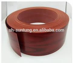 table edge guard. pvc edge banding tape/table guard banding/plastic table edging trim