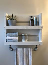bathroom floating shelves above toilet wall mounted towel rail towel rack stand wooden towel rack wall mounted