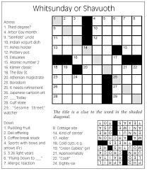 Day Light Crossword May 2015 Crossword Puzzle