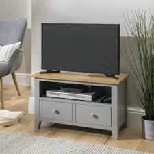 nebraska oak 80cm small tv unit for
