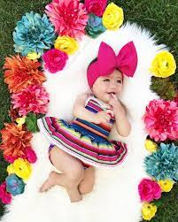 Mexican babies, Baby photoshoot girl