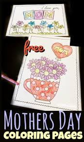 Some of the others are more complex and the older kids will really like the challenge of them. Free Mothers Day Coloring Sheets