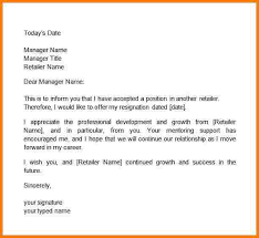 Writing Two Weeks Notice 13 Writing A Two Weeks Notice Letter Profesional Resume
