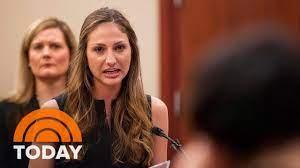 Victims Confront Former Gymnastics Team ...