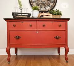 Painted Furniture Moulin Rouge The Pros And Cons Of Painting Salvaged Furniture