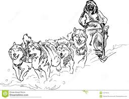 Small Picture Coloring Download Sled Dog Coloring Pages Sled Dog Coloring