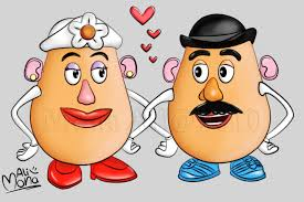 mr and mrs potato head. Simple And Mr And Mrs Potato Head By Noomy  And D