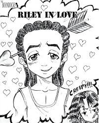 boondocks coloring pages lovely riley