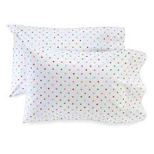 Polka Dot Pillowcases Custom Printed Polka Dot Pillowcase Set Kid Made Modern