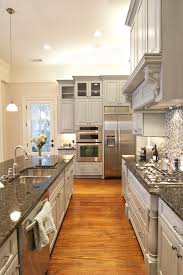 Hardwood Kitchen Floors 40 Inviting Contemporary Custom Kitchen Designs Layouts Grey
