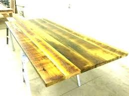 diy plank table top
