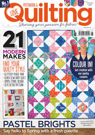 Issue 46 of Love Patchwork & Quilting on sale today! - Love ... & by Katharine Bennett March 29, 2017 9:00 am Adamdwight.com